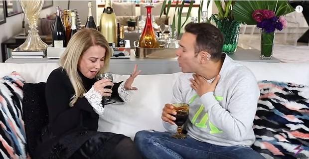 Zilu Godoi e Matheus Mazzafera (Foto: Reprodução / YouTube)
