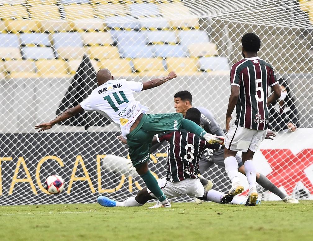 Fluminense 0 x 3 Portuguesa no Maracanã — Foto: André Durão