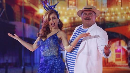 Dani Calabresa, Leo Jaime e Erika Januza se emocionam na despedida dos ensaios do 'Dança'