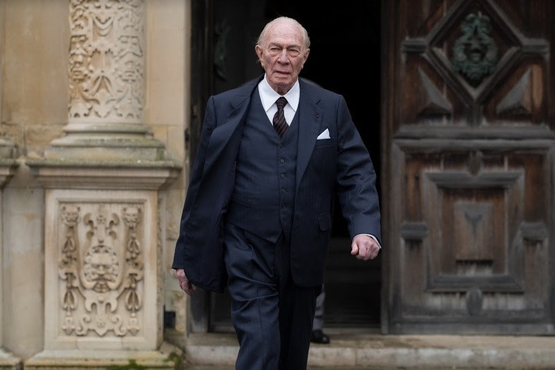 Christopher Plummer no papel de John Paul Getty, em