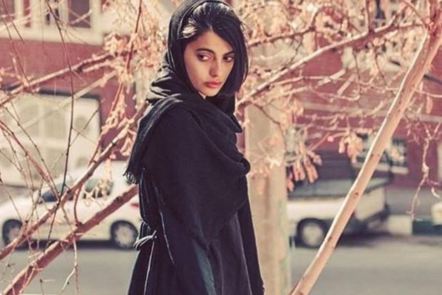 Maedeh Hojabri em foto postada em seu conta do Instagram (Foto: Reprodução/Instagram)