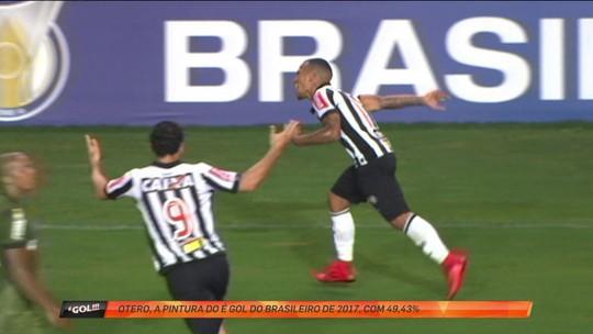 Em disputa acirradíssima, Otero supera Thiago Neves e fatura pintura do ano
