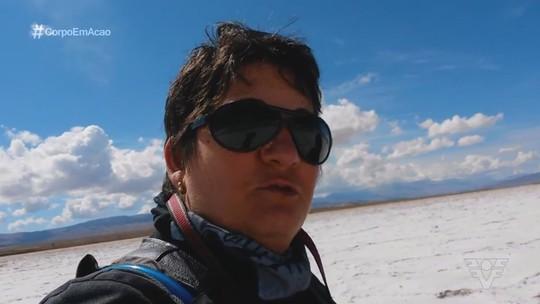 Mulher viaja três continentes de moto e lança livro sobre a aventura