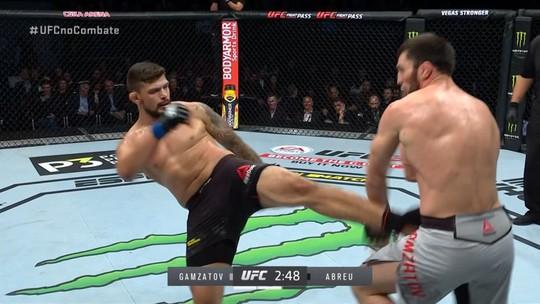 Melhores Momentos de Shamil Gamzatov X Klidson Abreu no UFC Moscou