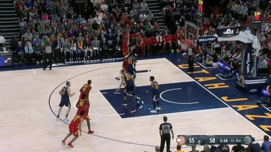 Melhores momentos: Atlanta Hawks 99 x 94 Utah Jazz pela NBA