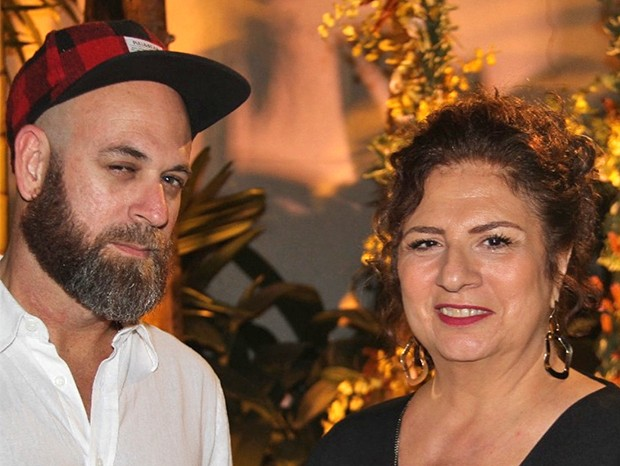 Paulo Nunes e Gisele Najjar  (Foto: Divulgação)