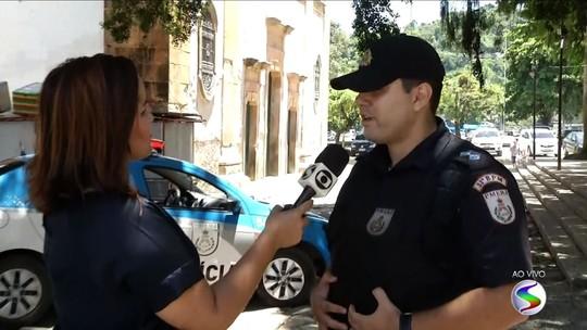 Polícia Militar de Paraty, RJ, reforça policiamento em pontos estratégicos da cidade