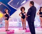 Concurso de 'miss infantil' no Programa Silvio Santos | Reprodução/ SBT