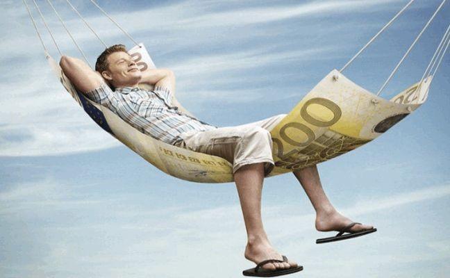 Dinheiro, descanso, rede, conforto, milionário (Foto: Arquivo Google)