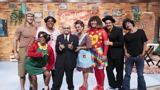 Senhor Barriga do seriado 'Chaves', ator Édgar Vivar faz participação no 'Vai Que Cola'