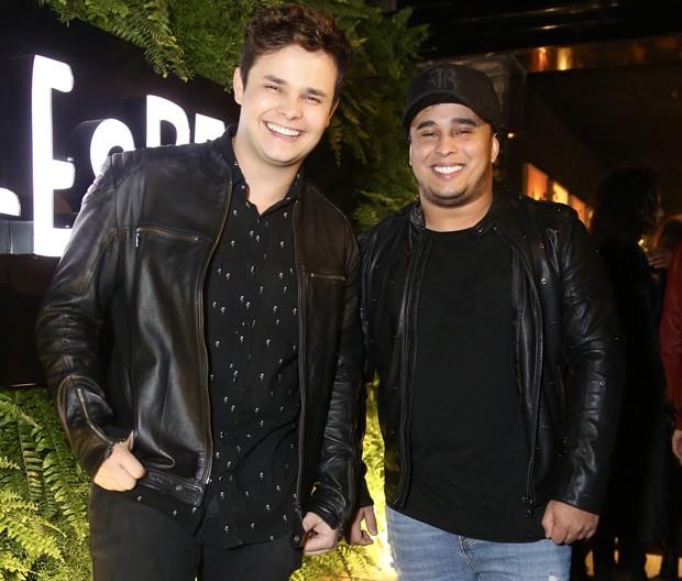 Matheus e Kauan (Foto: Manuela Scarpa/Brazil News)