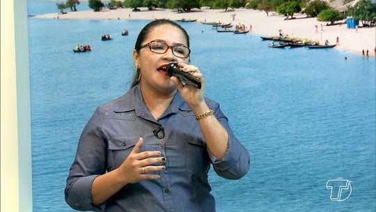 Ádria Góes é a convidada desta terça-feira (21), para cantar seu amor à Nossa Senhora da Conceição