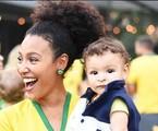Sheron Menezzes e o filho, Benjamim | Reprodução/ Instagram