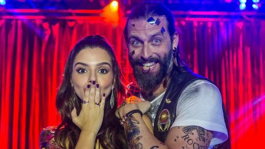 Henri Castelli e Giovanna Lancellotti mostram os bastidores de #Rallena e prometem surpresa