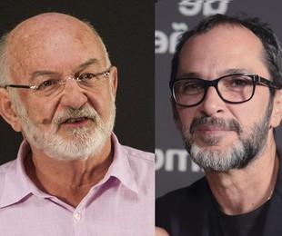 Silvio de Abreu e José Luiz Villamarim | Divulgação/Globo