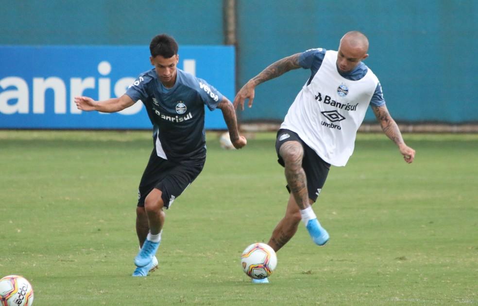 Ferreira era cotado para ser sucessor de Everton — Foto: Eduardo Moura