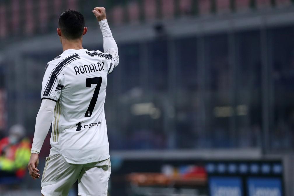 Cristiano Ronaldo está na terceira temporada na Juventus, ainda em grande fase — Foto: Getty Images