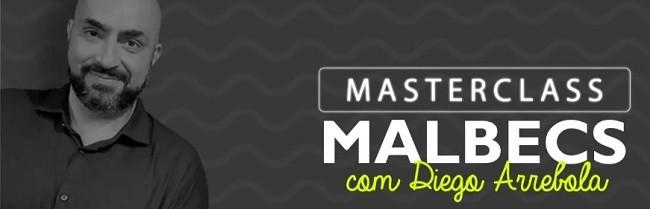 O sommelier Diego Arrebola dará uma masterclass sobre Malbec