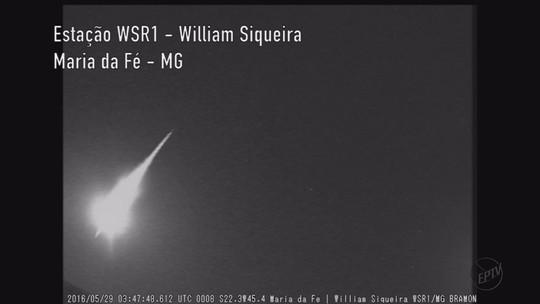 Estudiosos vão tentar localizar meteoro que teria caído no Sul de MG
