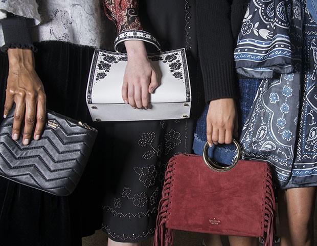 As bolsas e sapatos que foram destaque durante a fashion week (Foto: Imaxtree)