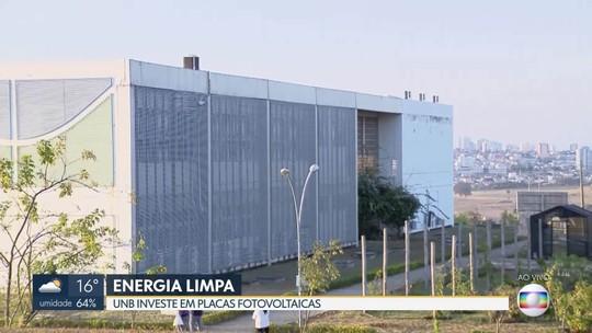 Usina de energia solar é ativada no campus UnB Ceilândia