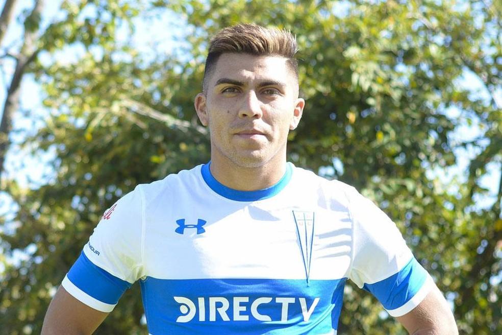 César Pinares, meio-campista, Grêmio — Foto: Dilvulgação/Universidad Católica