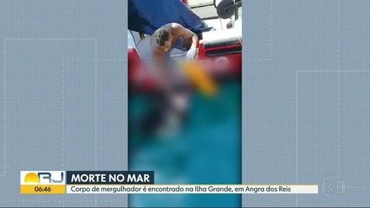 Corpo de mergulhador é encontrado em Ilha Grande