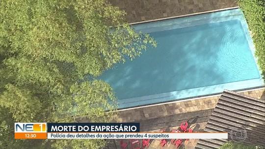 Um dos suspeitos presos pelo assassinato de empresário em Aldeia visitou local do crime dois dias antes, diz delegada
