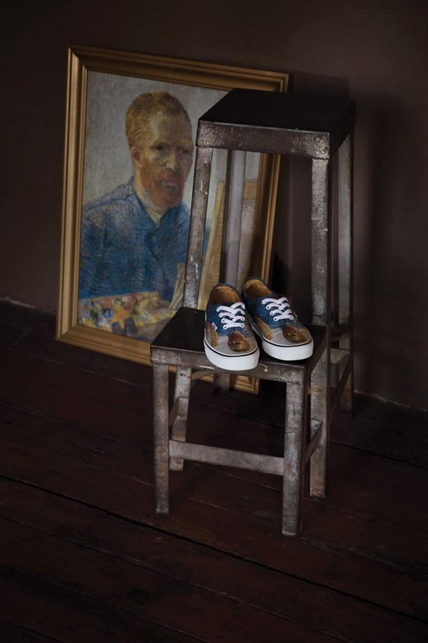 Vans lança tênis com obras de Van Gogh estampadas (Foto: Divulgação)