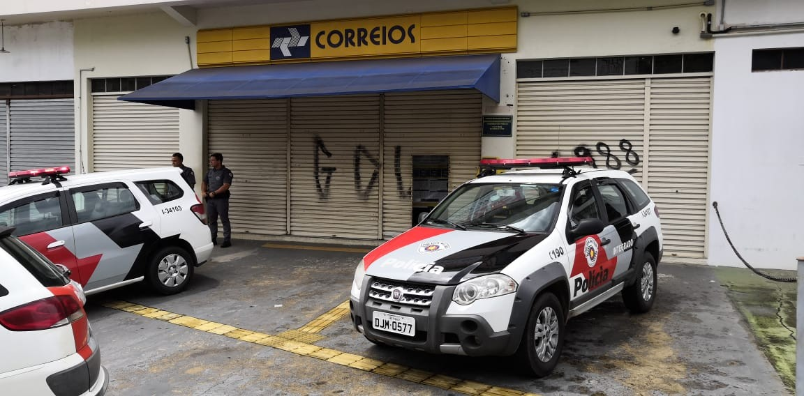Assaltante é morto em tentativa de roubo à agência do Correios  - Radio Evangelho Gospel