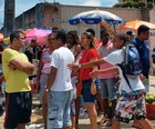 Morre menina<br /><br /><br /> baleada perto de local de votação (Genildo Lawinscky/ TV Bahia)