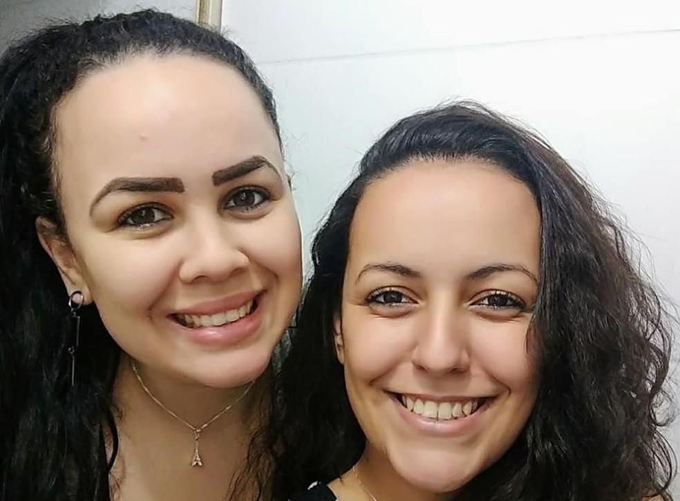 Carina Ramos e Ana Flávia Gonçalves são investigadas por suspeita de participação no crime no ABC — Foto: Reprodução/Redes sociais