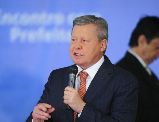 O prefeito de Manaus, Arthur Virgílio Neto (Foto: Pedro França/Agência Senado)