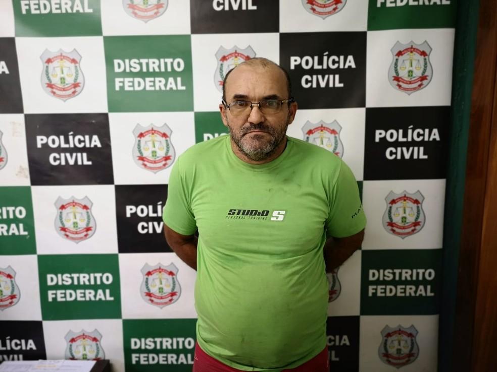 Suspeito teria abusado de crianças entre 9 e 12 anos de idade no DF. — Foto: Polícia Civil do DF/Divulgação