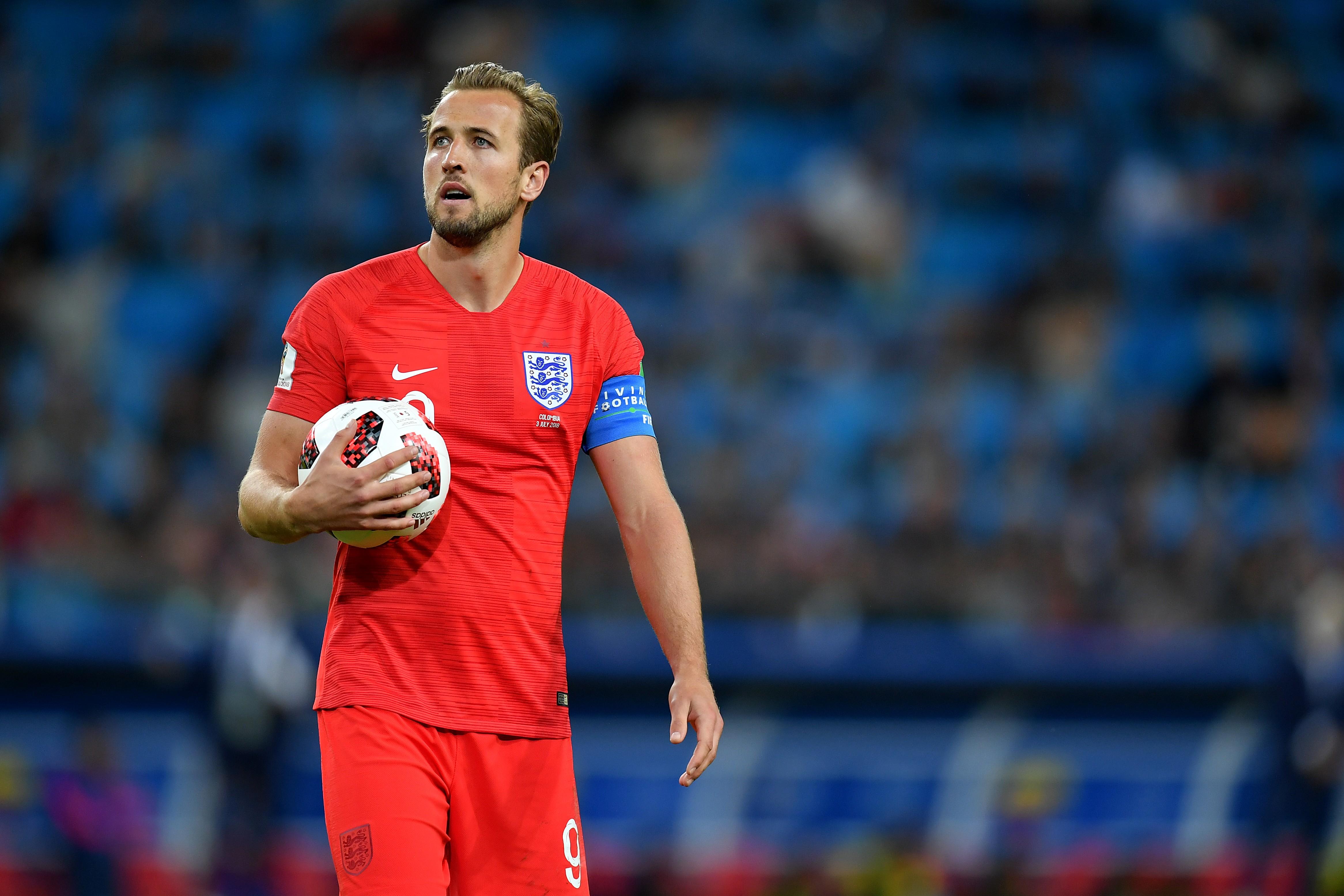 Harry Kane, estrela da seleção inglesa e, talvez, das notas de cinco libras (Foto: Getty Images/Dan Mullan)