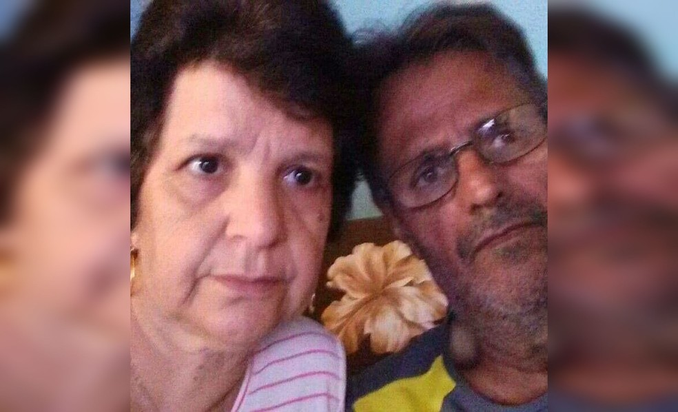 Lourival e Maria Cristina desapareceram depois de serem levados por enxurrada em Botucatu — Foto: Arquivo Pessoal