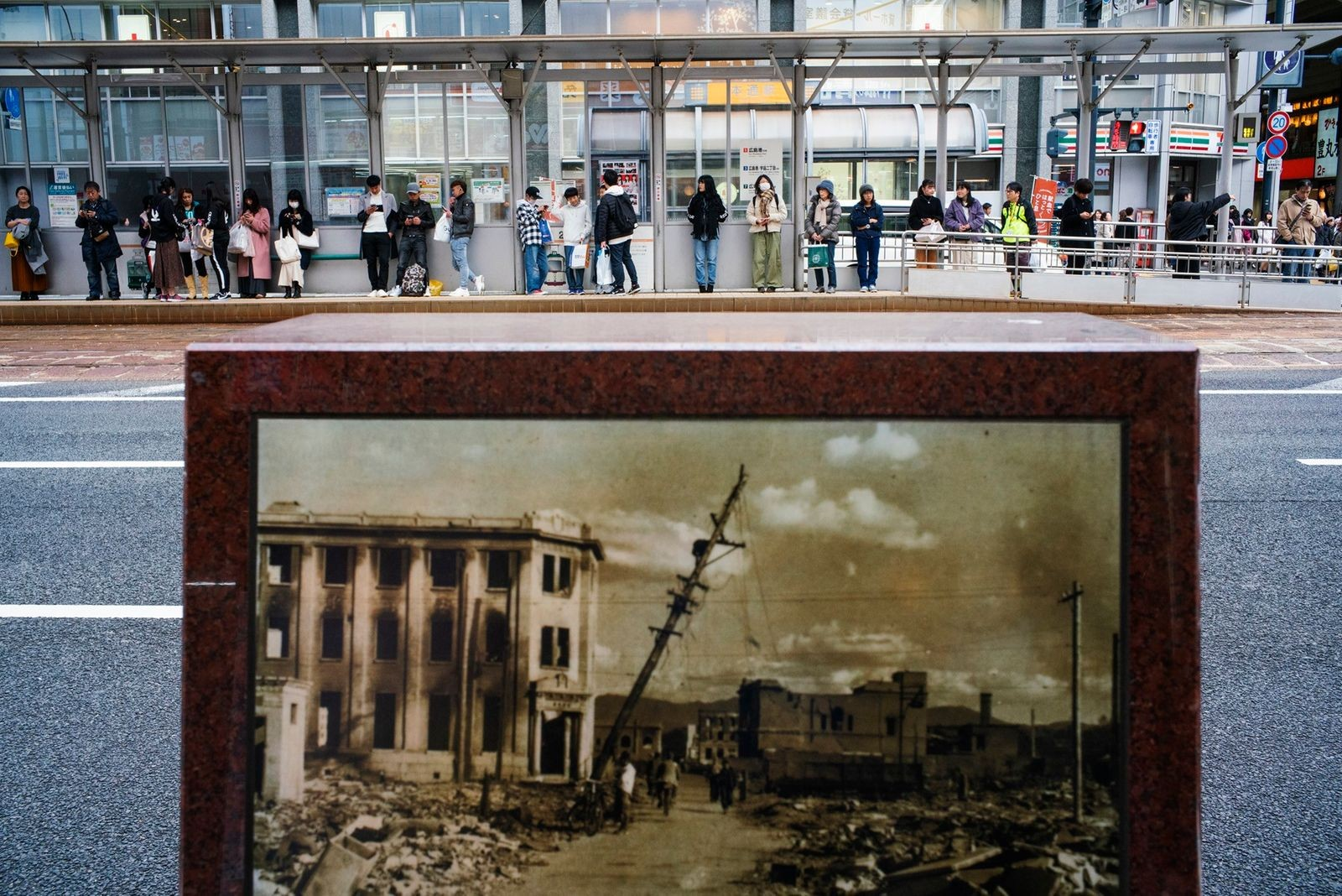Cidade japonesa de Hiroshima 75 anos após o ataque de bomba atômica (Foto: Hiroki Kobayashi / National Geographic)