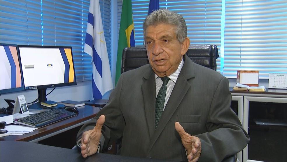 Procurador geral de Justiça fala sobre suspensão do concurso da Polícia Militar (Foto: Reprodução/TV Anhanguera)