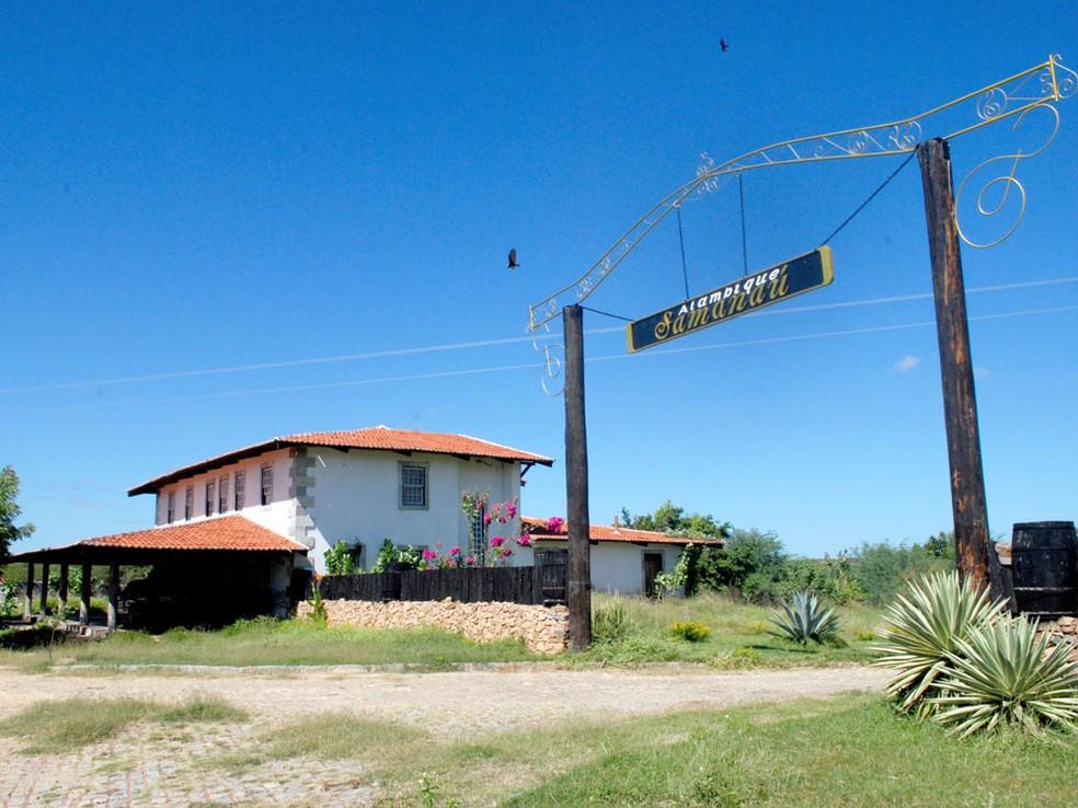 Alambique Samanaú funciona em Caicó — Foto: Divulgação