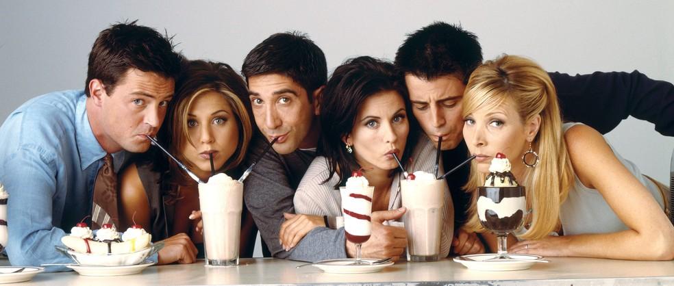 Elenco de 'Friends' — Foto: Divulgação