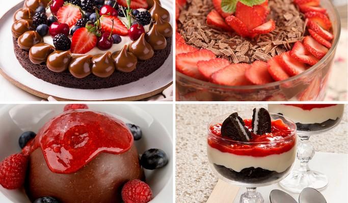 Morango e chocolate: 10 receitas com a combinação deliciosa!