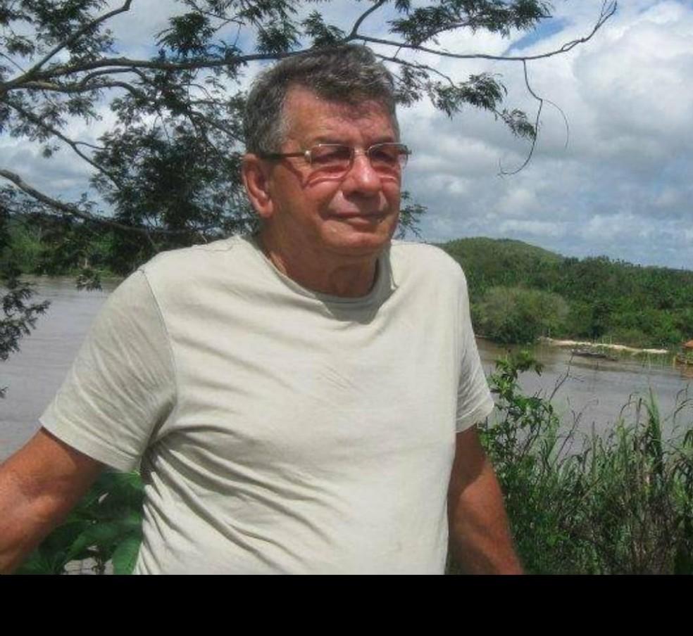 Francisco Barbosa de Aquino, de 75 anos, teria sido vítima de latrocínio. — Foto: Arquivo Pessoal