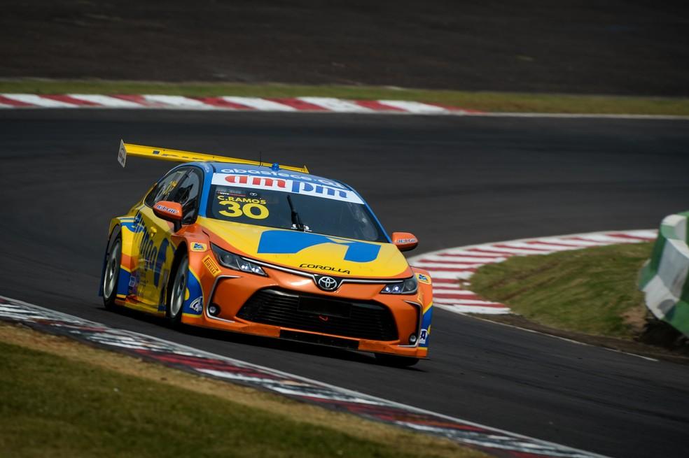Cesar Ramos saiu de Cascavel na liderança do campeonato da Stock Car em 2020 — Foto: Duda Bairros