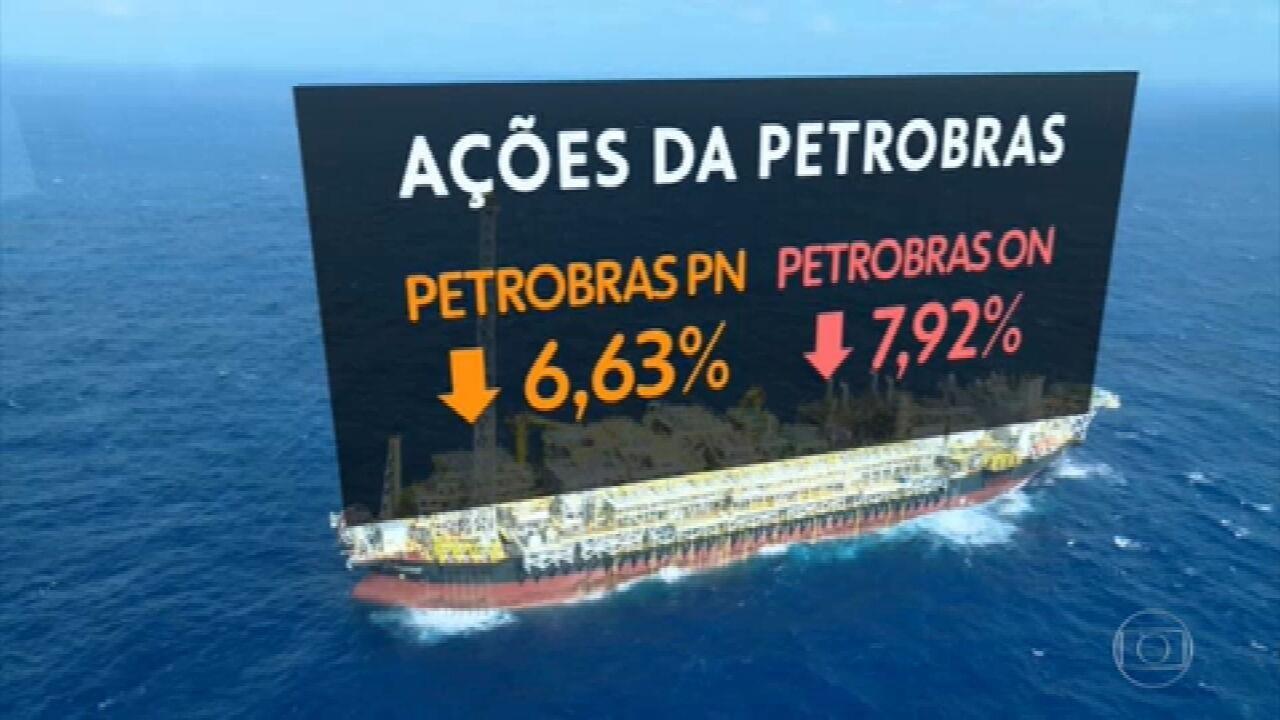 Ações da Petrobras sofrem forte desvalorização após declarações de Bolsonaro