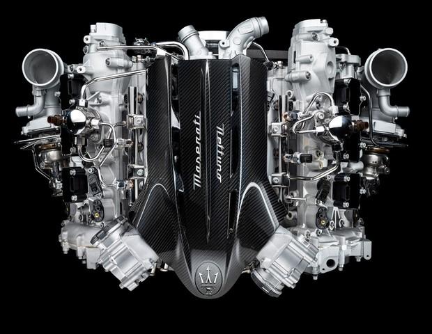 Maserati revela motor do novo superesportivo MC20 (Foto: Divulgação)