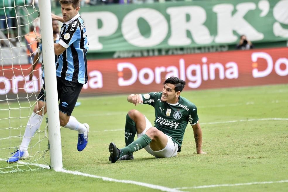 Palmeiras x Grêmio — Foto: Marcos Ribolli