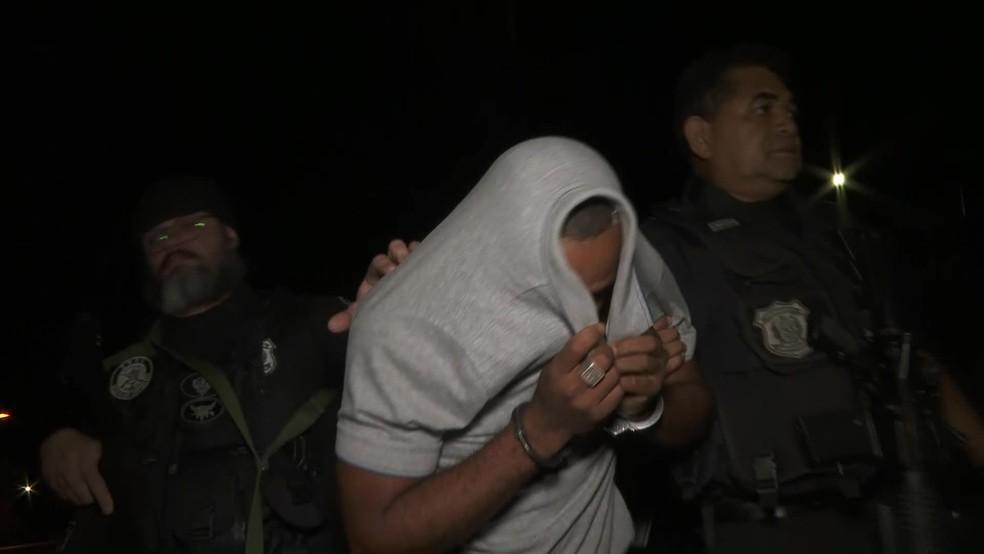 Suspeito de matar empresário em Aldeia é preso em Camaragibe, no Grande Recife â?? Foto: Reprodução/TV Globo