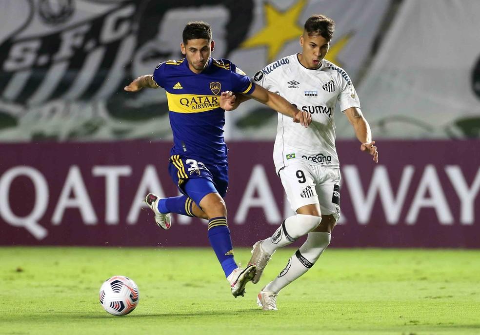 Santos é um dos brasileiros na Sul-Americana — Foto: Reuters