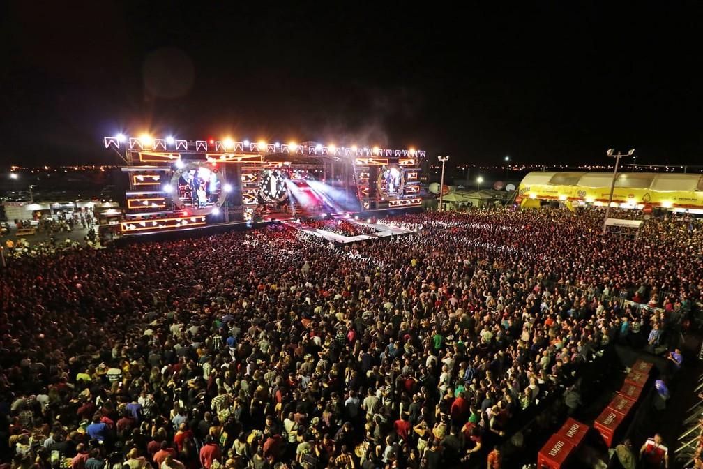 Mais de 700 mil pessoas são esperadas nos nove dias de festa no São João de Petrolina — Foto: Ascom / PMP