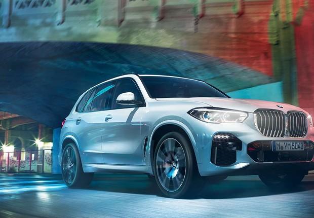 X5, SUV da BMW que será fabricado no Brasil (Foto: Divulgação/BMW)